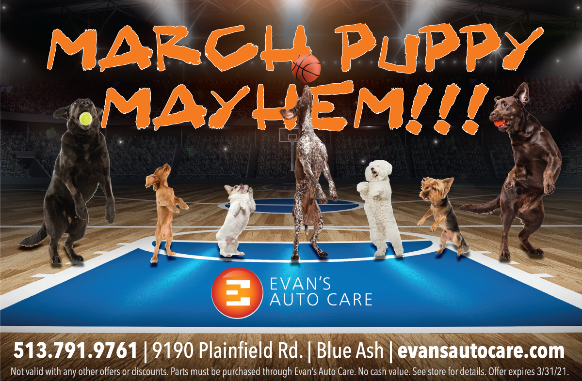 March Puppy Mayhem